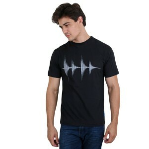 Camiseta KL Sound Wave Preto