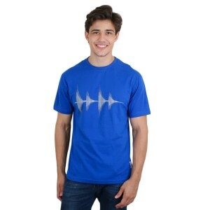 Camiseta KL Sound Wave Azul Royal