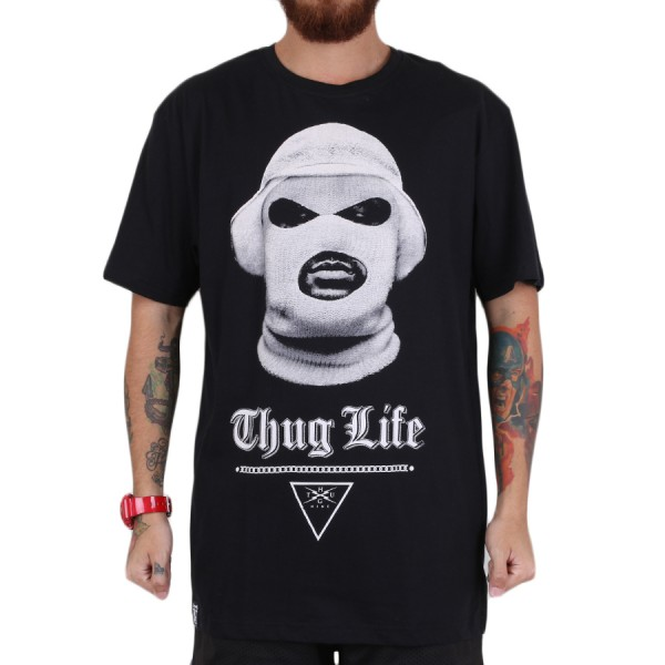 Camiseta Thug Nine School Boy Preto