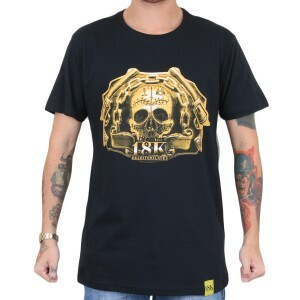 Camiseta 18 Kilates Gold Guns Preto