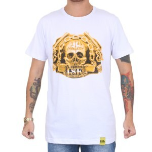 Camiseta 18 Kilates Gold Guns Branco