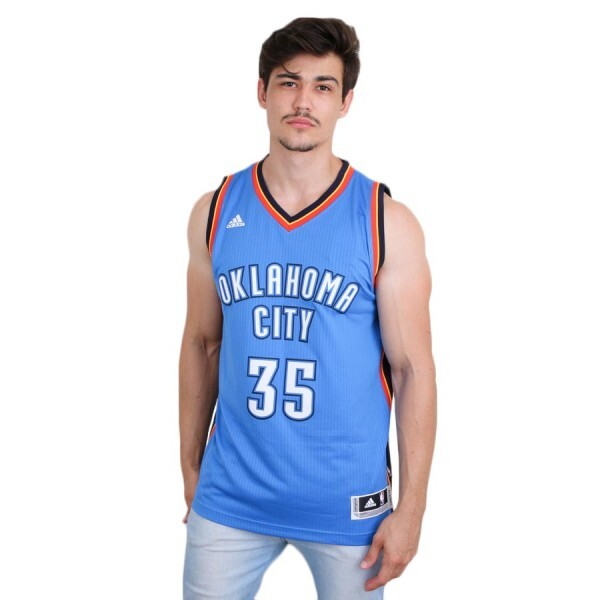 Camiseta Adidas Regata Swingman Oklahoma City Thunder Road Kevin Durant Royal