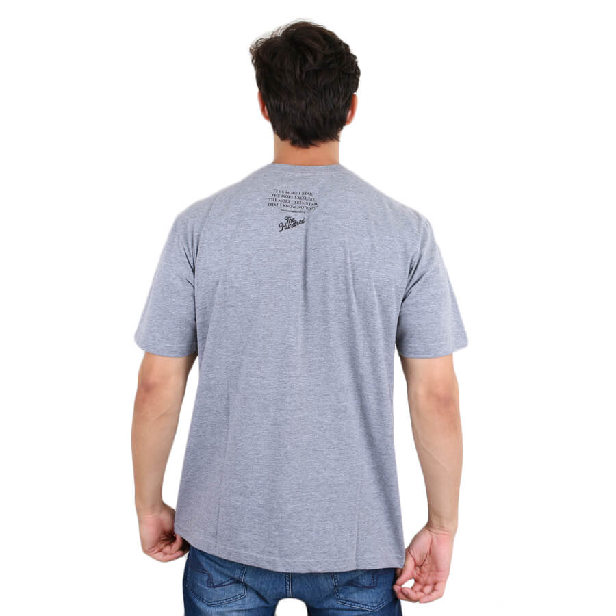 Camiseta The Hundreds Insides Cinza Mescla