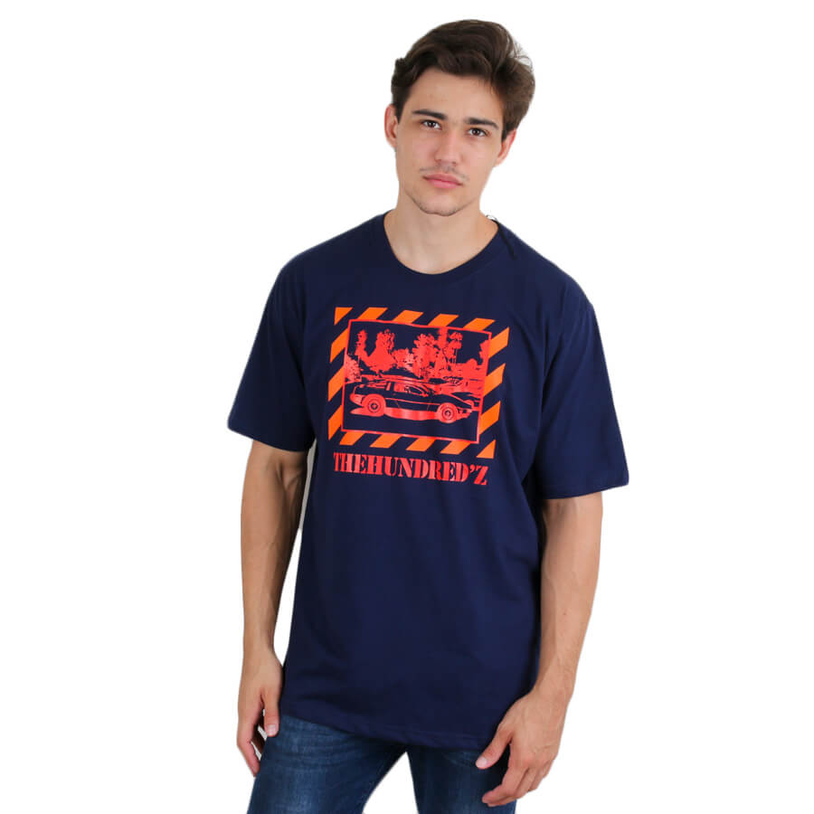 Camiseta The Hundreds Bobbyz Azul Marinho