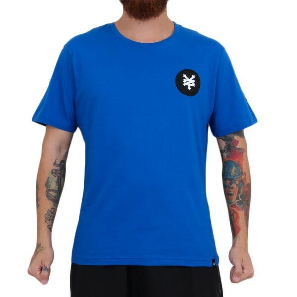 Camiseta Zoo York ZY Dots Azul Royal