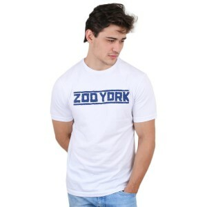 Camiseta Zoo York Script Branco