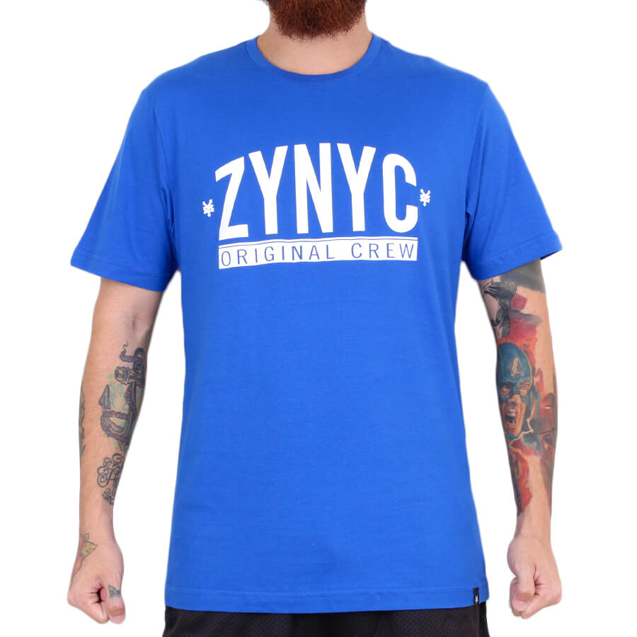 Camiseta Zoo York Crew Royal