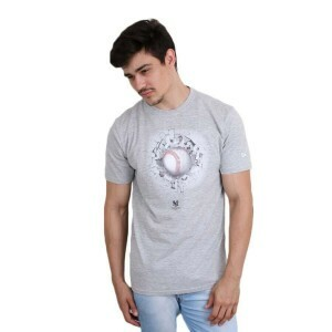 Camiseta New Era New York Yankees Concret Cinza