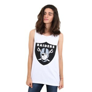 Camiseta New Era Regata Oakland Raiders White