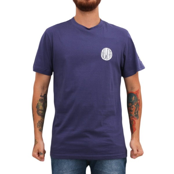 Camiseta New Era Logo Skill Purple