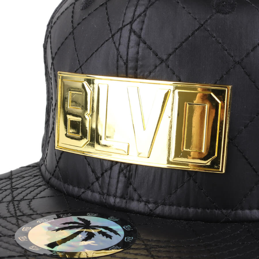 Boné BLVD Supply Snapback Gold Standard Preto