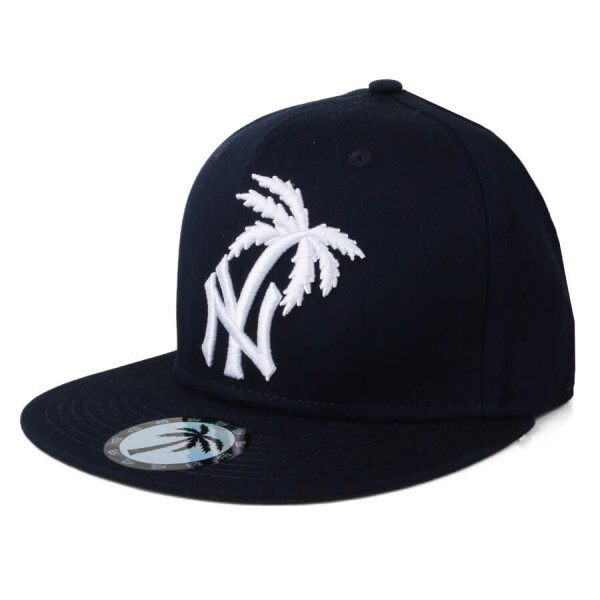 Boné BLVD Supply Snapback NY Azul