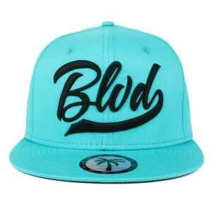 Boné BLVD Supply Snapback Basic Teal Verde