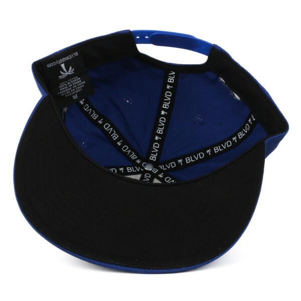 Boné BLVD Supply Snapback Basic Azul