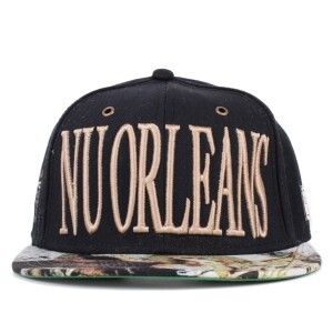 Boné Cayler And Sons Strapback Nu Orleans Cap Black/Printed