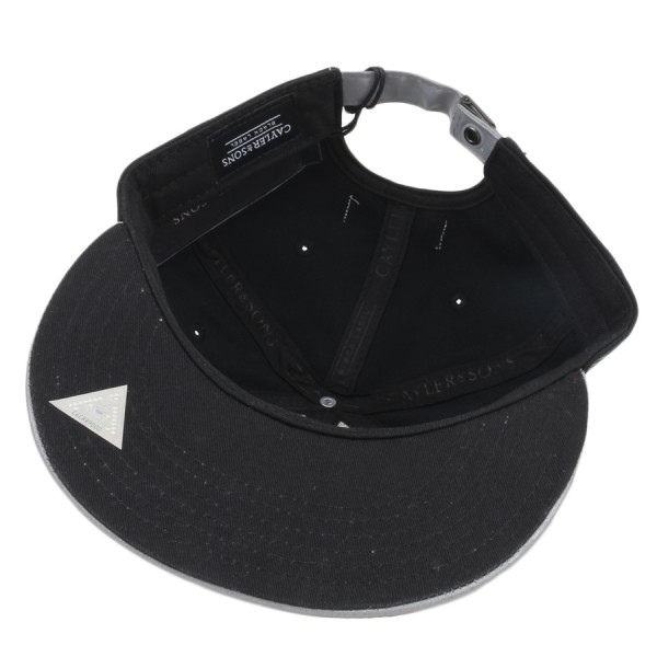 Boné Cayler And Sons Strapback Flash Cap Preto/Cinza