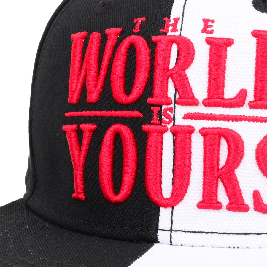 Boné Cayler And Sons Snapback WL The World Is Yours Preto/Branco