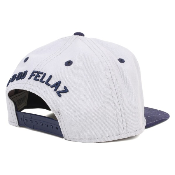 Boné Cayler And Sons Snapback WL Good Fellaz Cinza/Azul Marinho