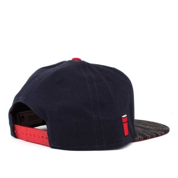 Boné Cayler And Sons Snapback Weezy Does It Navy/Tiger Camo/Red