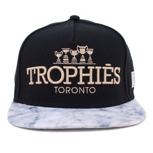 Boné Cayler And Sons Snapback Trophies Black/Grey Printed