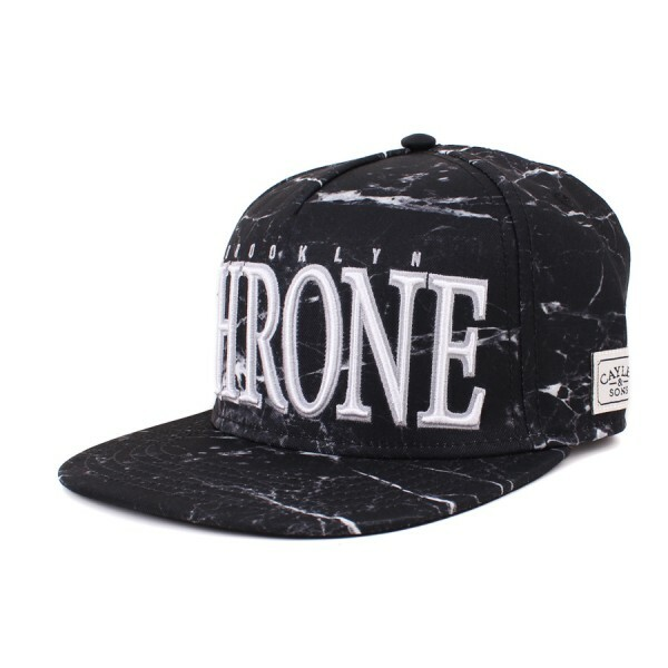 Boné Cayler And Sons Snapback Throne Black/Printed