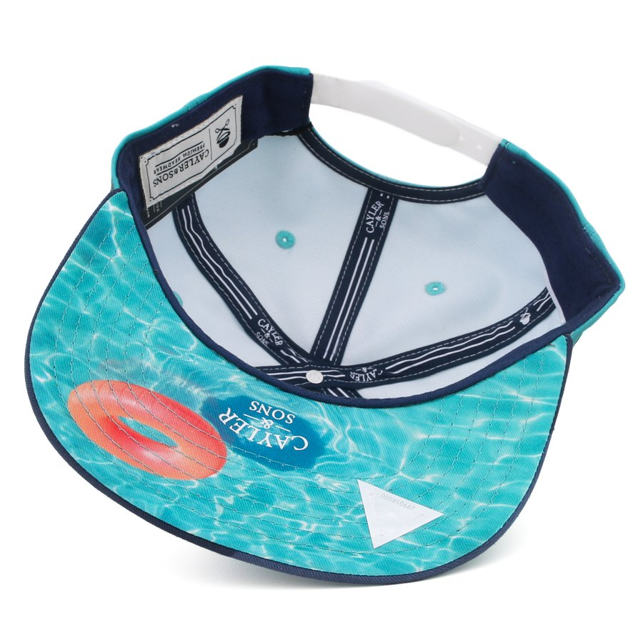 Boné Cayler And Sons Snapback Swimming Pools Green/Navy