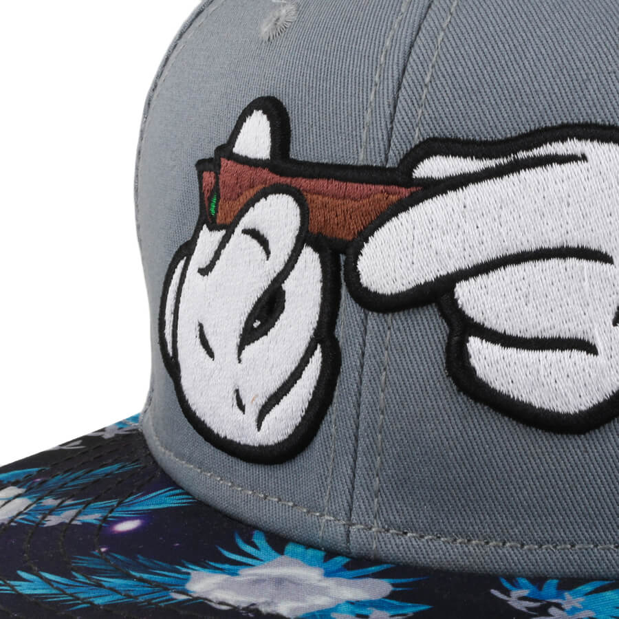 Boné Cayler And Sons Snapback Spaced Out Cinza