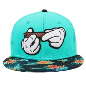 Boné Cayler And Sons Snapback Rolling Green/Printed