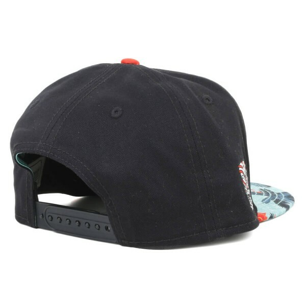 Boné Cayler And Sons Snapback Outta Hawaii Preto/Floral