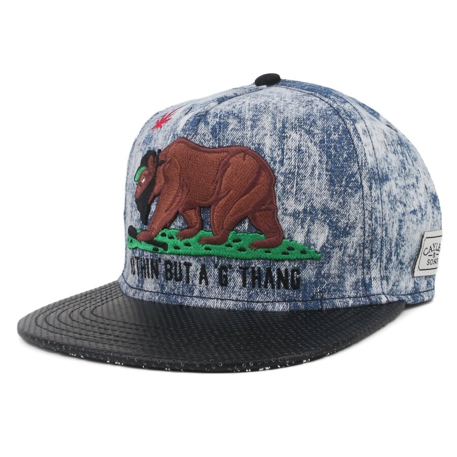 Boné Cayler And Sons Snapback Nuthin But A G Thang Jeans Blue/Black