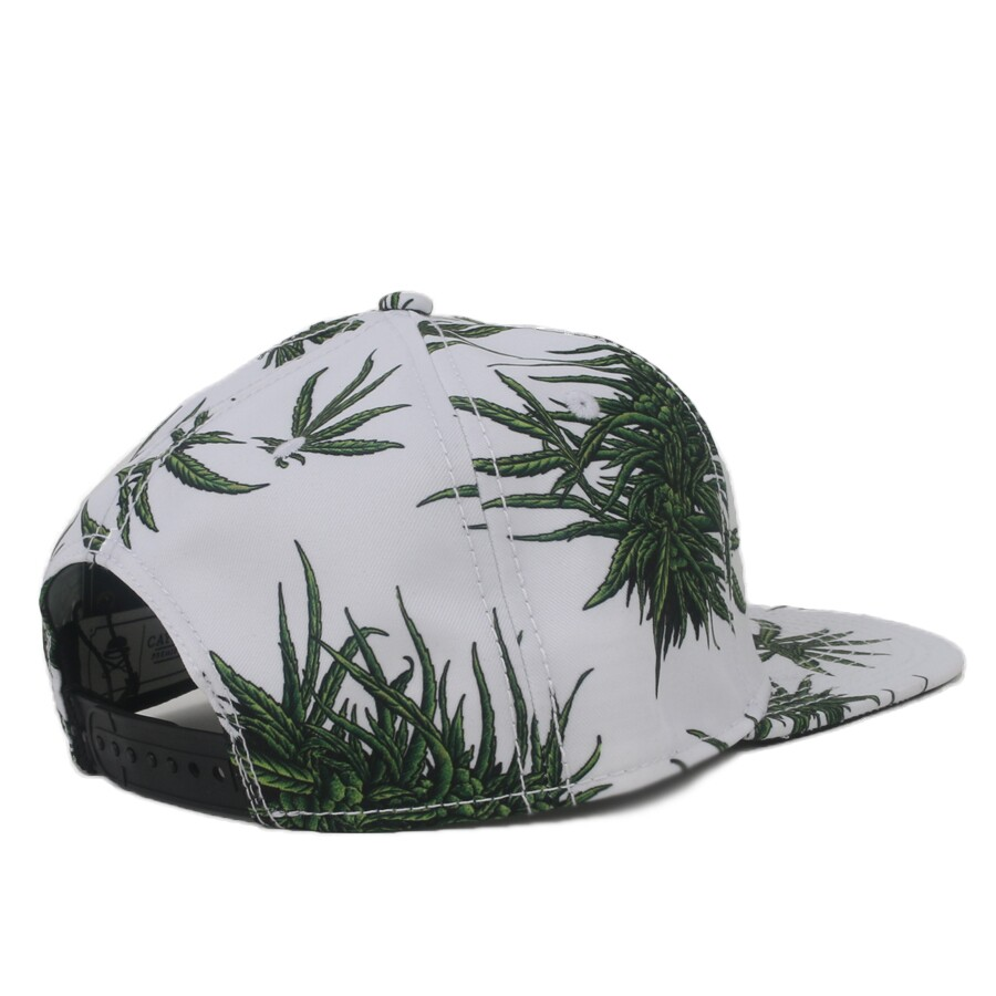 Boné Cayler And Sons Snapback Mitchko White/Green Printed