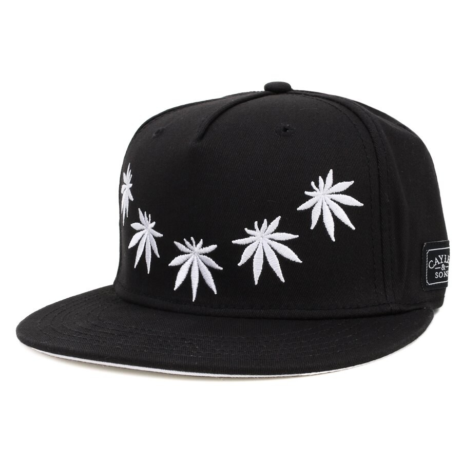 Boné Cayler And Sons Snapback Marijuana Black