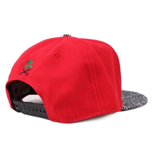 Boné Cayler And Sons Snapback Killa Cap Red/Printed