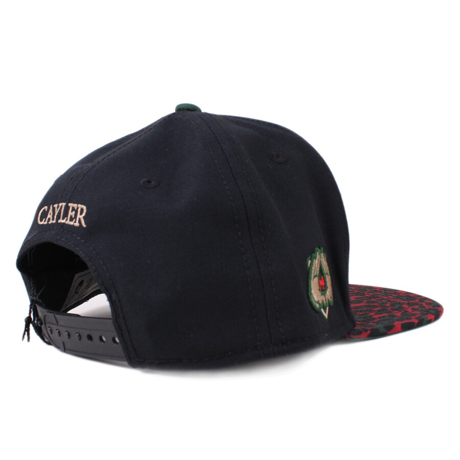 Boné Cayler And Sons Snapback Hello BKLYN Cap Black/Printed