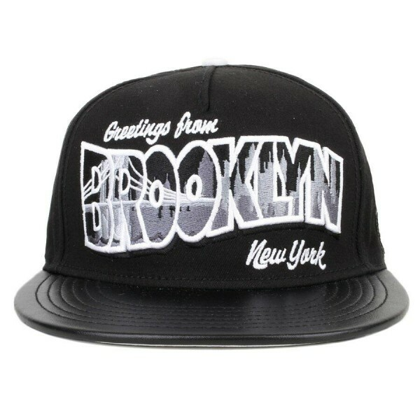 Boné Cayler And Sons Snapback Greetings From Brooklyn Preto