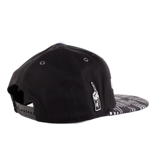 Boné Cayler And Sons Snapback Flagged Black/Printed
