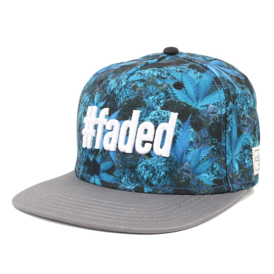 Boné Cayler And Sons Snapback Faded Azul/Cinza