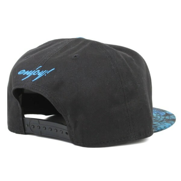 Boné Cayler And Sons Snapback Enjoy Preto/Azul