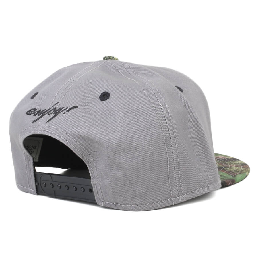 Boné Cayler And Sons Snapback Enjoy Cinza/Verde