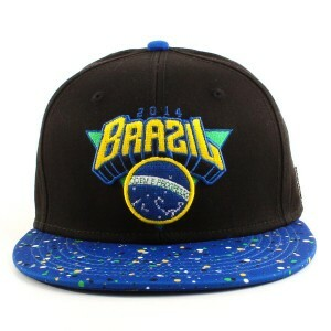 Boné Cayler and Sons Snapback do Brazil Cap Black