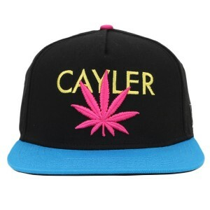 Boné Cayler And Sons Snapback Budz Black/Blue