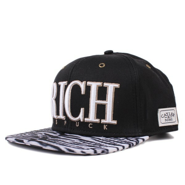 Boné Cayler And Sons Snapback Billions Cap Black/Printed