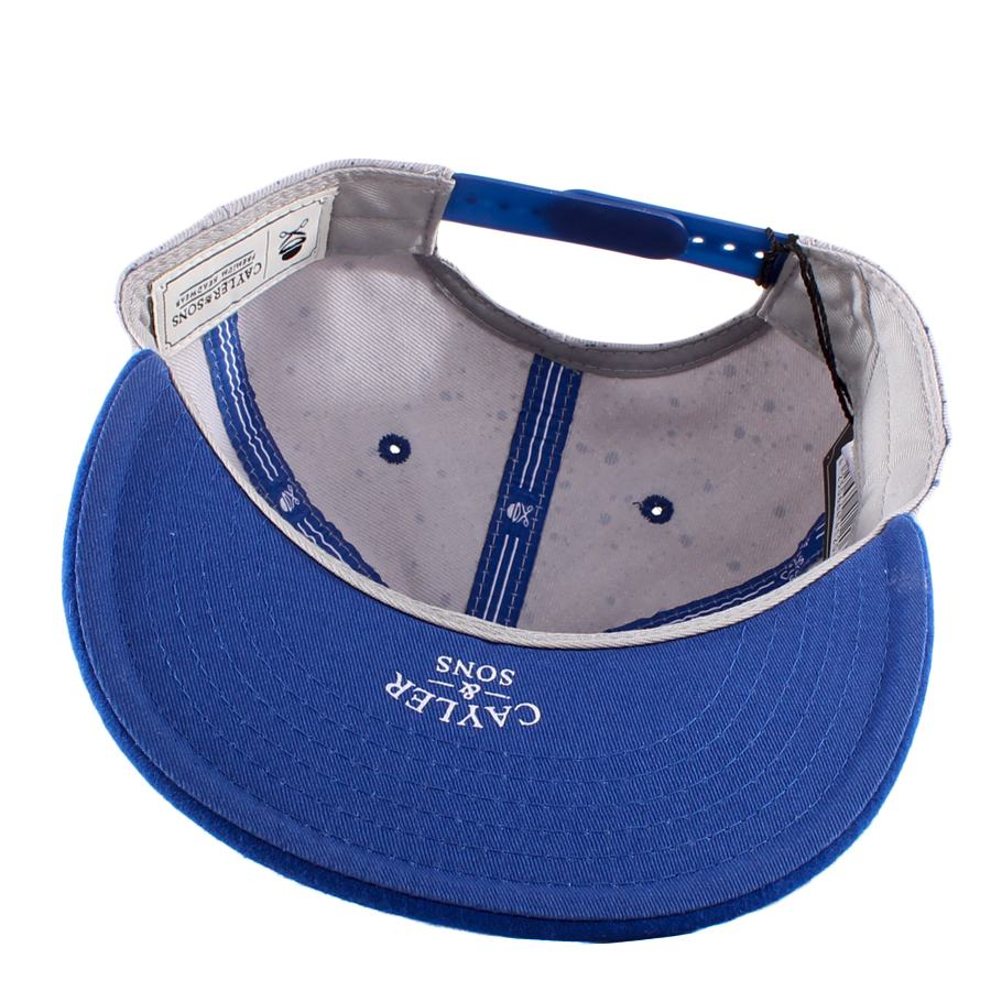 Boné Cayler And Sons Snapback 2Tone Printed/Blue