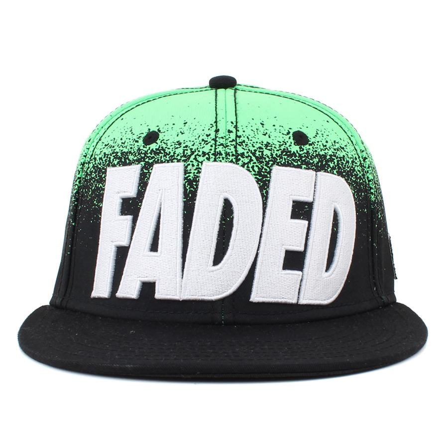 Boné Cayler And Sons Faded Black/Neon Green