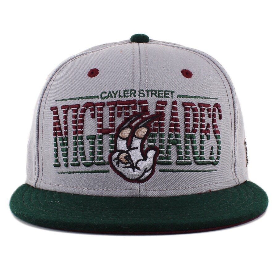 Boné Cayler  Sons Snapback Nightmares Green/Grey