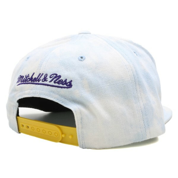 Boné Mitchell & Ness Snapback Los Angeles Lakers Azul Jeans