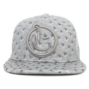 Boné New Era 9Fifty Original Fit Strapback Yums Grey