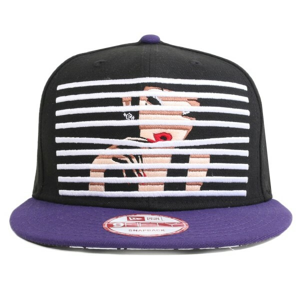 Boné New Era 9FIFTY Snapback TKDK Black/Purple