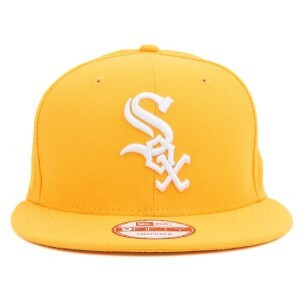 Boné New Era 9FIFTY Snapback Original Fit Chicago White Sox Tradicional Yellow