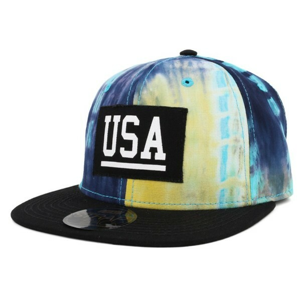 Boné Official Strapback Usa Printed/Black